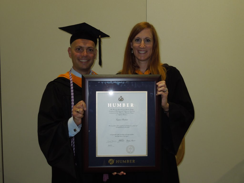 Bachelor of physical therapy - Lynne Sinclair Awarded Honorary Bachelor Degree In Applied Studies From Humber