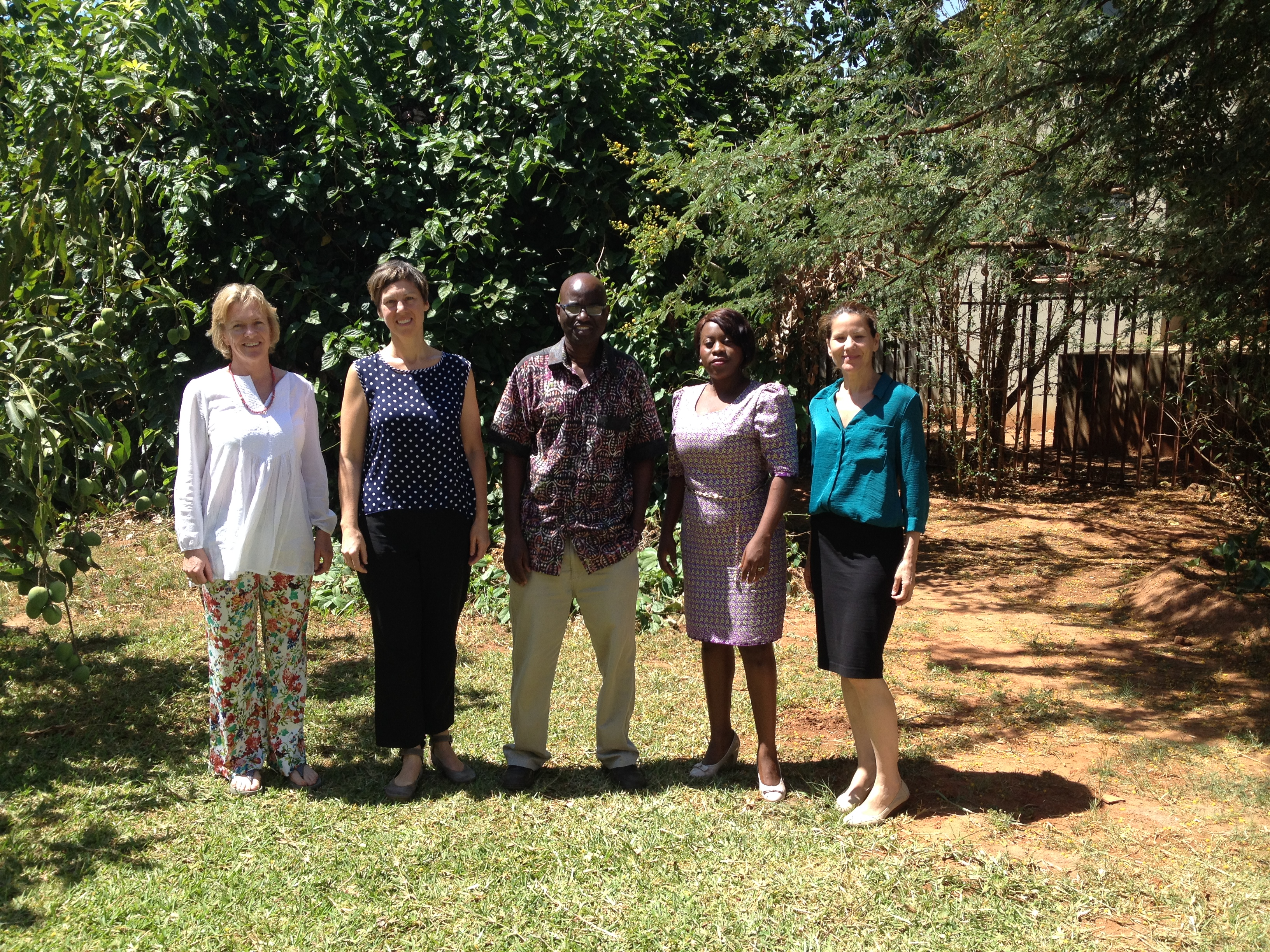 Canadian board of physical therapy - Dr Stephanie Nixon With Her Collaborators In Zambia From Left Dr Ginny