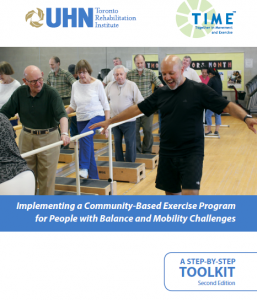 Together in Movement and Exercise (TIMETM) Program Step by Step Toolkit Cover