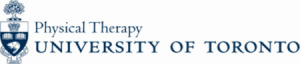 Department of Physical Therapy at University of Toronto Logo