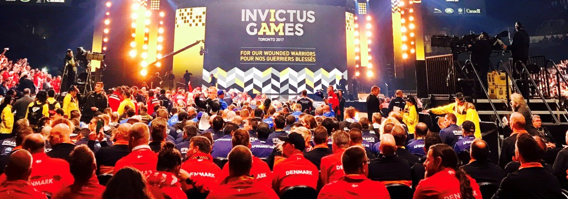 Our Faculty and Graduate Physical Therapists Help Athletes Compete at Invictus