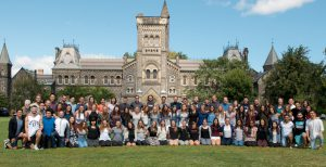 Photo of our Graduating Class on Front Campus