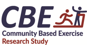 Community Based Exercise Research Study Logo