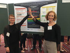 Nancy Salbach and Kathryn Sibley, KT Canada Annual Meeting