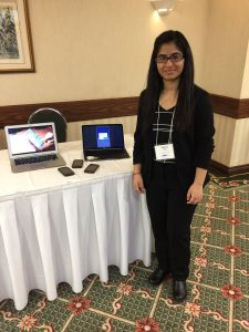 Shainy Raj, WorkStudy research, iWalkAssess App, TRI-UHN Research Day